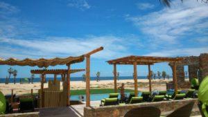 El Faro Beach Club Pool a favorite of Casa Oasis Todos Santos Vacation Rental