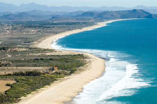 La Pastora to Punta Lobos, with Sand for miles and miles that beckons to our guests at Casa Oasis Todos Santos Vacation Rental