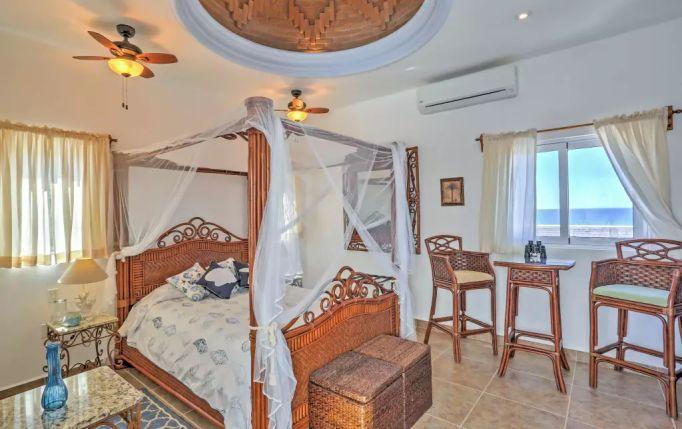 Queen Suite Ocean View Studio Apartment B Casa Oasis Todos Santos Vacation Rental